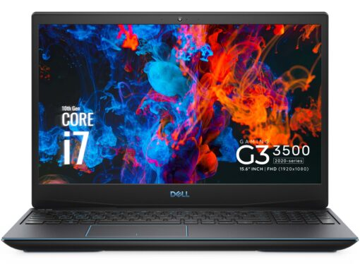 DELL G3 3500 GAMING CORE I7-10750H 512SSD 16GB 15.6