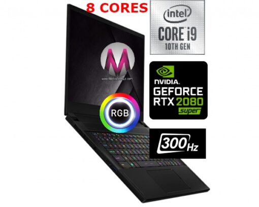 MSI GS66 Stealth 10SGS-031 GAMING Core i9-10980HK 2.4GHz 1TB SSD 32GB 15.6″ FHD 300Hz NVIDIA® GeForce® RTX 2080