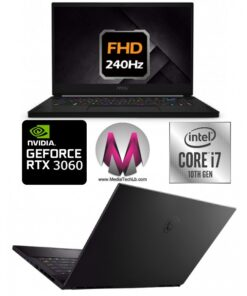 MSI GS66 STEALTH GAMING 9S7-16V312-256 Core™ i7-10750H 2.6GHz 16GB 1TB SSD 15.6″ FHD